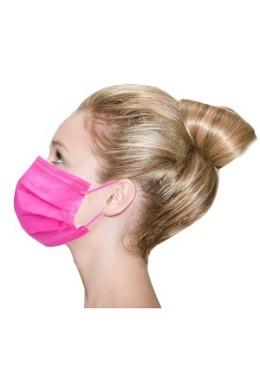 Vivid Colored Maske TYP IIR Fuchsia