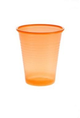 Mundspülbecher, PP, 180ml, Orange
