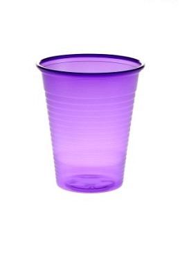 Mundspülbecher, PP, 180ml, Violett
