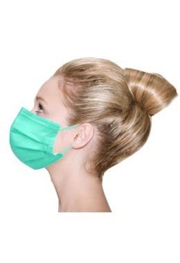 Vivid Colored Maske TYP IIR Grün