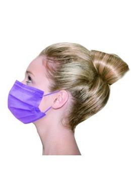 Vivid Colored Maske TYP IIR Lavendel