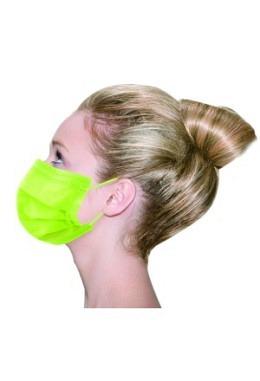 Vivid Colored Maske TYP IIR Fresh Green