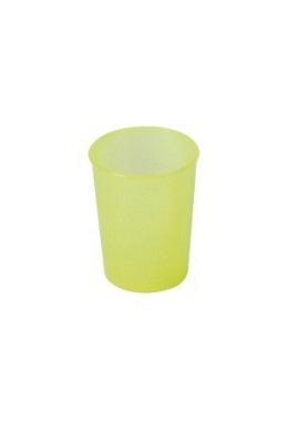 Mehrwegbecher Kunststoff 250ml Gelb