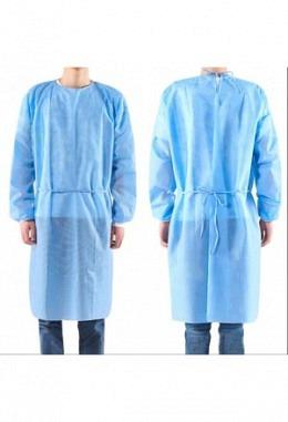 Isolations-Mantel PP+PE Blau